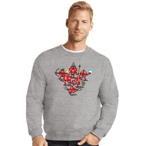 Shirts Crewneck Sweater, Unisex / Small / Sports Grey Adventure Party