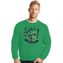 Load image into Gallery viewer, Shirts Crewneck Sweater, Unisex / Small / Irish Green The Green Bastard