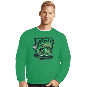 Shirts Crewneck Sweater, Unisex / Small / Irish Green The Green Bastard