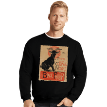 Load image into Gallery viewer, Shirts Crewneck Sweater, Unisex / Small / Black Black Goat Tour