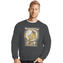 Load image into Gallery viewer, Shirts Crewneck Sweater, Unisex / Small / Charcoal Beer Is The Answer