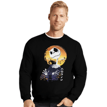Load image into Gallery viewer, Shirts Crewneck Sweater, Unisex / Small / Black Ukiyo E Jack
