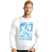 Load image into Gallery viewer, Shirts Crewneck Sweater, Unisex / Small / White Bebop