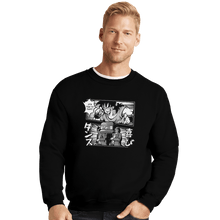 Load image into Gallery viewer, Shirts Crewneck Sweater, Unisex / Small / Black Bad Ending