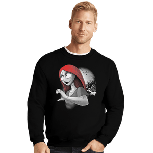 Shirts Crewneck Sweater, Unisex / Small / Black His Doll