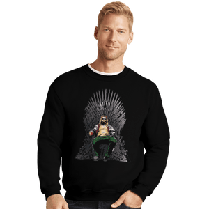 Shirts Crewneck Sweater, Unisex / Small / Black God Of Thrones