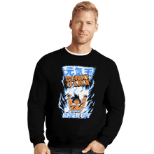 Load image into Gallery viewer, Shirts Crewneck Sweater, Unisex / Small / Black Genki Dama