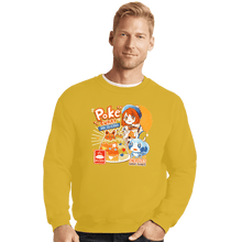 Load image into Gallery viewer, Shirts Crewneck Sweater, Unisex / Small / Gold Poke Curry