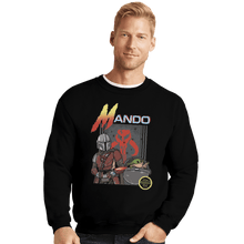 Load image into Gallery viewer, Shirts Crewneck Sweater, Unisex / Small / Black Contramando