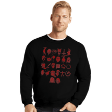 Load image into Gallery viewer, Shirts Crewneck Sweater, Unisex / Small / Black ABCs Of Horror