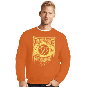 Shirts Crewneck Sweater, Unisex / Small / Red Air Nomads