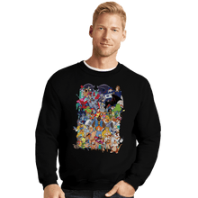 Load image into Gallery viewer, Daily_Deal_Shirts Crewneck Sweater, Unisex / Small / Black How I Spent My Saturday Mornings