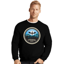 Load image into Gallery viewer, Shirts Crewneck Sweater, Unisex / Small / Black Legendary Journey