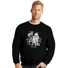 Load image into Gallery viewer, Shirts Crewneck Sweater, Unisex / Small / Black The Force Side
