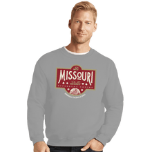 Load image into Gallery viewer, Shirts Crewneck Sweater, Unisex / Small / Sports Grey The Missouri Belle