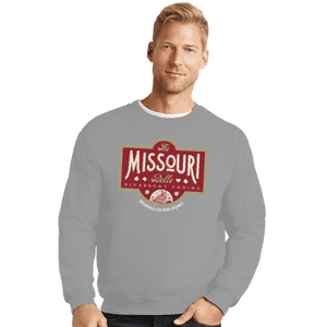 Shirts Crewneck Sweater, Unisex / Small / Sports Grey The Missouri Belle