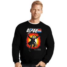 Load image into Gallery viewer, Shirts Crewneck Sweater, Unisex / Small / Black GI Poe