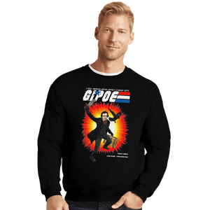 Shirts Crewneck Sweater, Unisex / Small / Black GI Poe