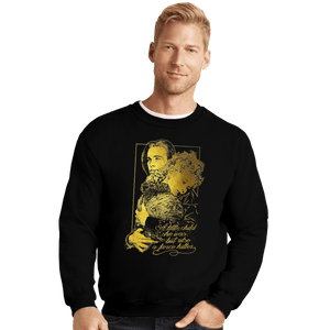 Shirts Crewneck Sweater, Unisex / Small / Black A Fierce Killer