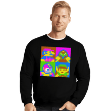 Load image into Gallery viewer, Shirts Crewneck Sweater, Unisex / Small / Black Pop NES