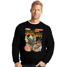Load image into Gallery viewer, Shirts Crewneck Sweater, Unisex / Small / Black Midnite Munch