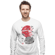 Load image into Gallery viewer, Shirts Long Sleeve Shirts, Unisex / Small / White Battle Of Endor