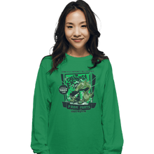 Load image into Gallery viewer, Shirts Long Sleeve Shirts, Unisex / Small / Irish Green The Green Bastard