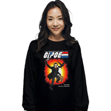 Load image into Gallery viewer, Shirts Long Sleeve Shirts, Unisex / Small / Black GI Poe