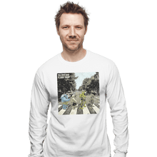 Load image into Gallery viewer, Shirts Long Sleeve Shirts, Unisex / Small / White Flabby Road