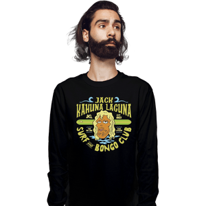 Shirts Long Sleeve Shirts, Unisex / Small / Black Jack Kahuna Laguna