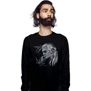 Shirts Long Sleeve Shirts, Unisex / Small / Black Monster Slayer