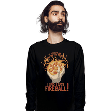 Load image into Gallery viewer, Shirts Long Sleeve Shirts, Unisex / Small / Black I Cast Fireball