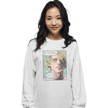 Load image into Gallery viewer, Shirts Long Sleeve Shirts, Unisex / Small / White As You Wish