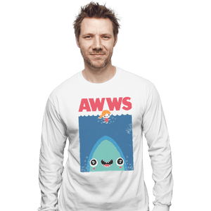 Shirts Long Sleeve Shirts, Unisex / Small / White AWWS