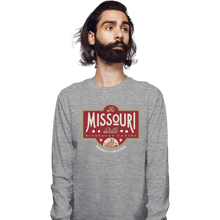 Load image into Gallery viewer, Shirts Long Sleeve Shirts, Unisex / Small / Sports Grey The Missouri Belle
