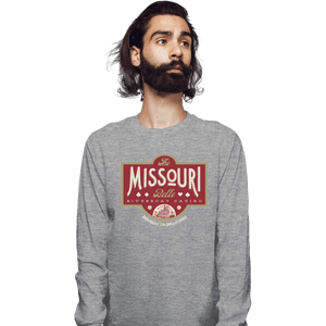 Shirts Long Sleeve Shirts, Unisex / Small / Sports Grey The Missouri Belle