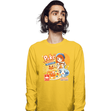 Load image into Gallery viewer, Shirts Long Sleeve Shirts, Unisex / Small / Gold Poke Curry