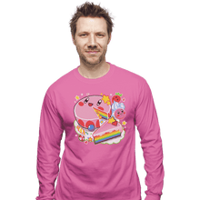 Load image into Gallery viewer, Daily_Deal_Shirts Long Sleeve Shirts, Unisex / Small / Azalea Kirby Cake