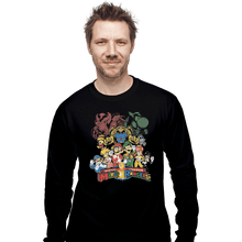 Load image into Gallery viewer, Shirts Long Sleeve Shirts, Unisex / Small / Black Mushroom Rangers