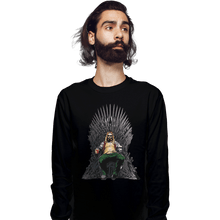 Load image into Gallery viewer, Shirts Long Sleeve Shirts, Unisex / Small / Black God Of Thrones