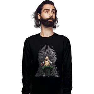 Shirts Long Sleeve Shirts, Unisex / Small / Black God Of Thrones