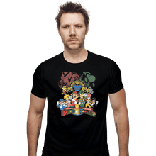 Load image into Gallery viewer, Shirts Fitted Shirts, Mens / Small / Black Mushroom Rangers