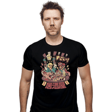 Load image into Gallery viewer, Shirts Fitted Shirts, Mens / Small / Black Heroes Izakaya