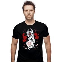 Load image into Gallery viewer, Shirts Fitted Shirts, Mens / Small / Black Alucard