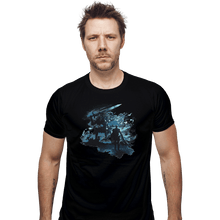 Load image into Gallery viewer, Shirts Fitted Shirts, Mens / Small / Black Abysswalker
