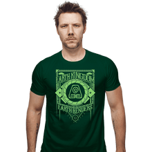 Load image into Gallery viewer, Shirts Fitted Shirts, Mens / Small / Irish Green Earth Kindgom