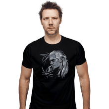 Load image into Gallery viewer, Shirts Fitted Shirts, Mens / Small / Black Monster Slayer