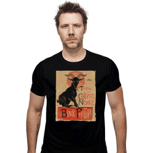 Load image into Gallery viewer, Shirts Fitted Shirts, Mens / Small / Black Black Goat Tour