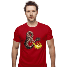 Load image into Gallery viewer, Secret_Shirts Fitted Shirts, Mens / Small / Red Bone Dragon Secret Sale