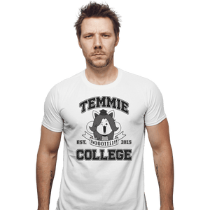 Shirts Fitted Shirts, Mens / Small / White Temmie College